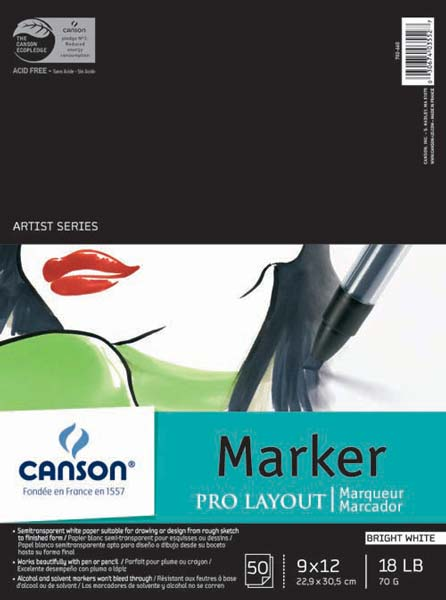 Canson Marker and Illustration Pads