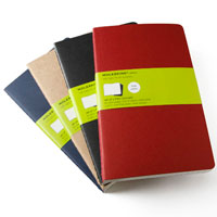 Moleskine Cahier Large Plain Notebooks