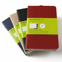 Moleskine Cahier Pocket Plain Notebooks