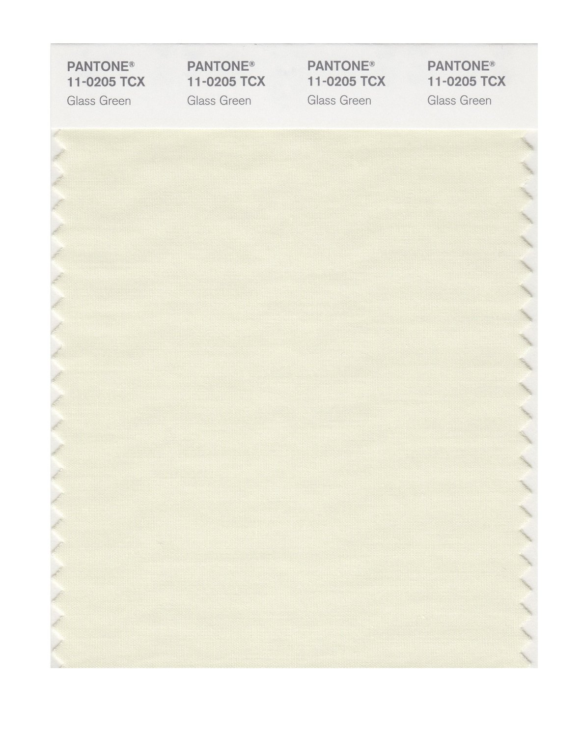 Pantone Smart Swatch 11-0205 Glass Green