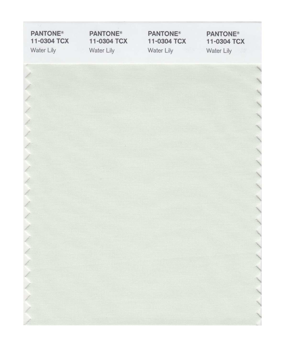 Pantone Smart Swatch 11-0304 Water Lily