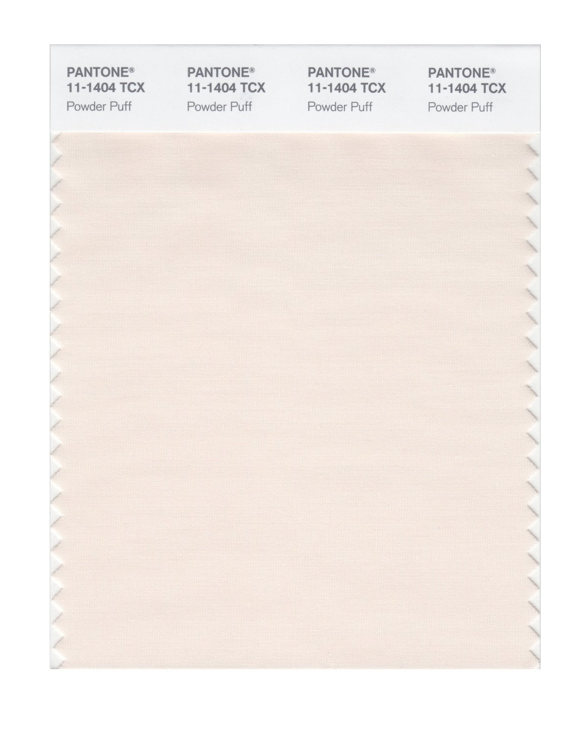 Pantone Smart Swatch 11-1404 Powder Puff