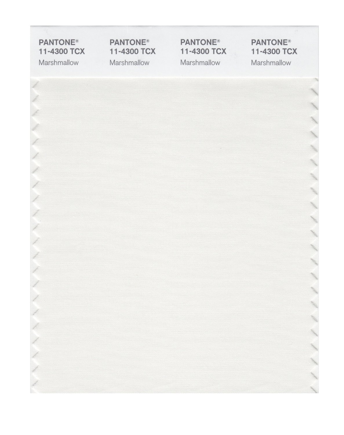 Pantone Smart Swatch 11-4300 Marshmallow