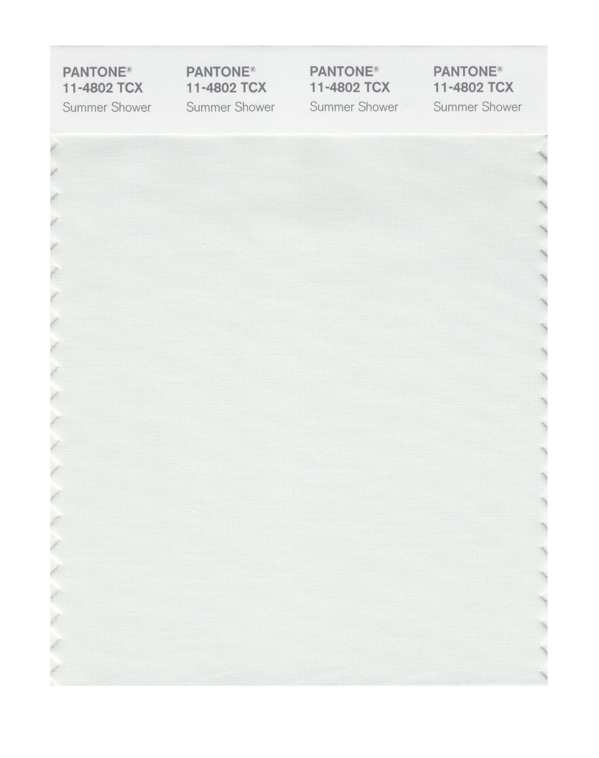 Pantone Smart Swatch 11-4802 Summer Shower