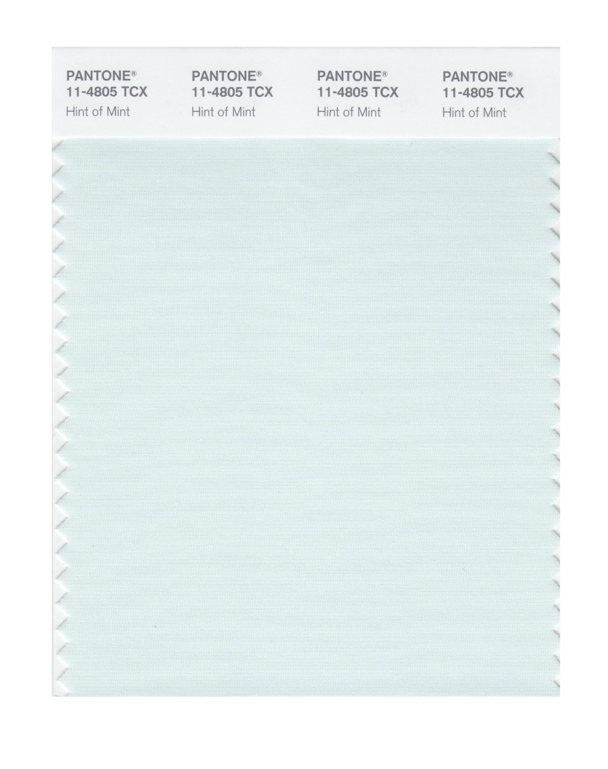 Pantone Smart Swatch 11-4805 Hint Of Mint
