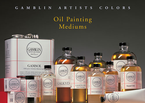 Gamblin Oil Painting Mediums