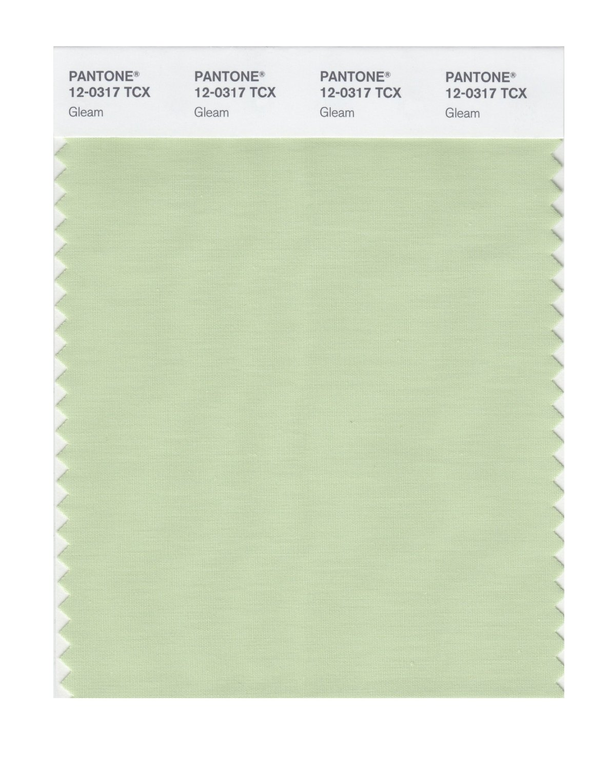 Pantone Smart Swatch 12-0317 Gleam