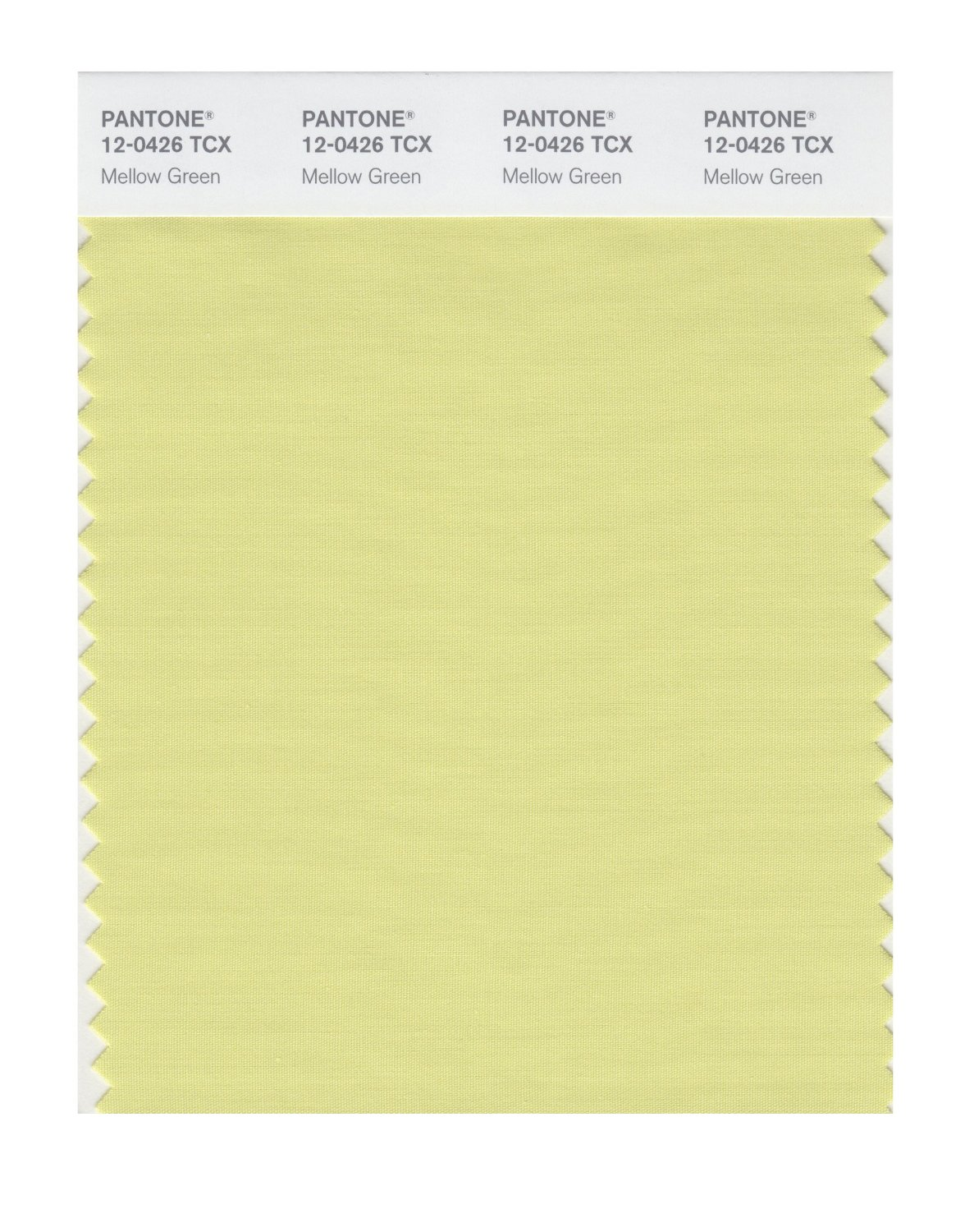 Pantone Smart Swatch 12-0426 Mellow Green
