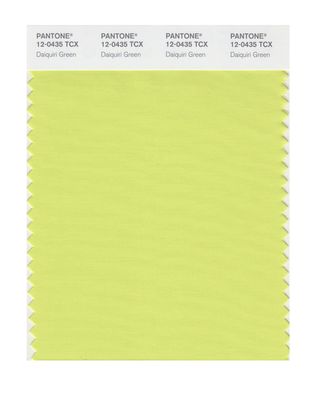 Pantone Smart Swatch 12-0435 Daiquiri Green