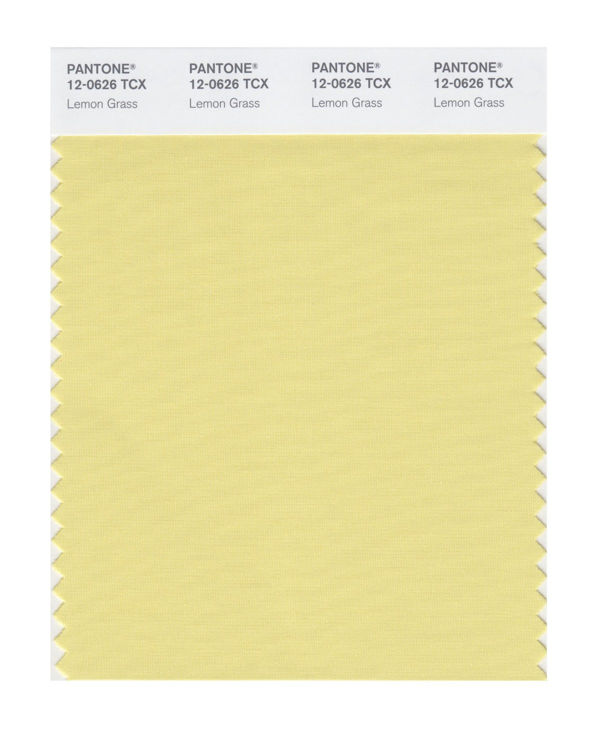 Pantone Smart Swatch 12-0626 Lemon Grass