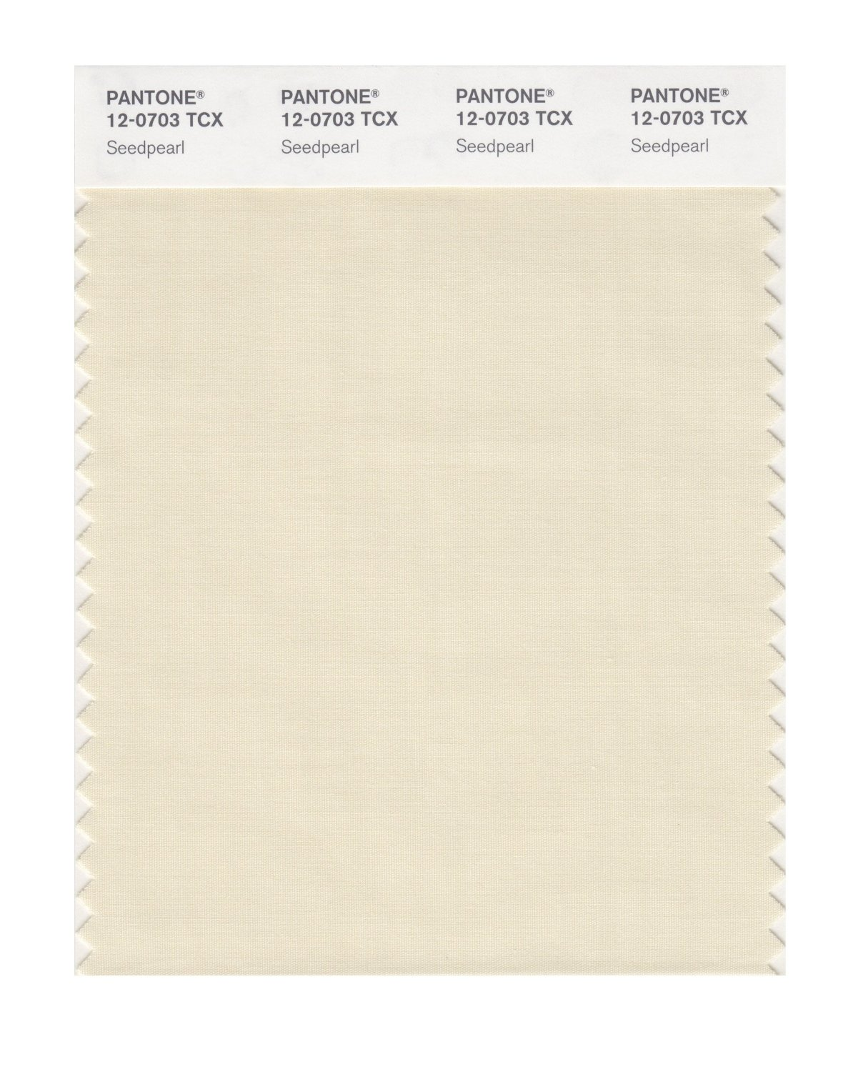Pantone Smart Swatch 12-0703 Seedpearl