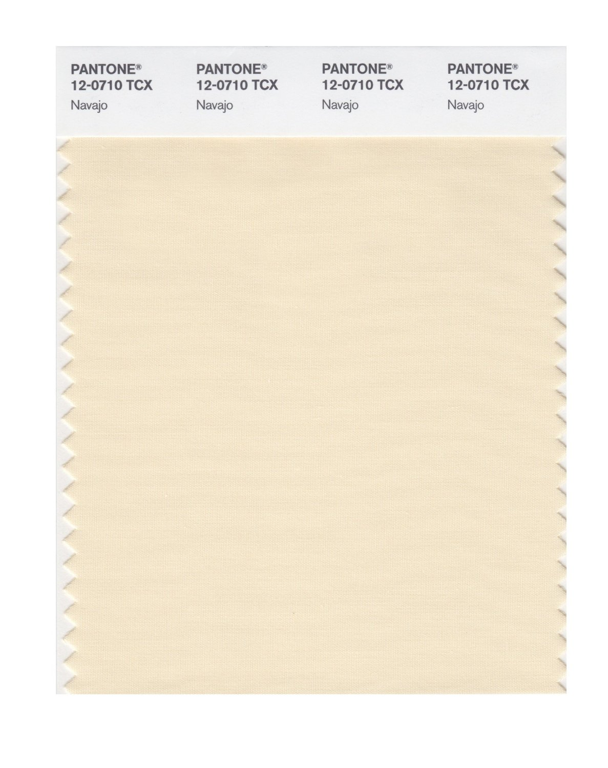 Pantone Smart Swatch 12-0710 Navajo