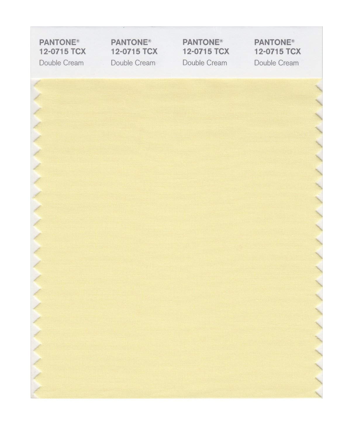 Pantone Smart Swatch 12-0715 Double Cream