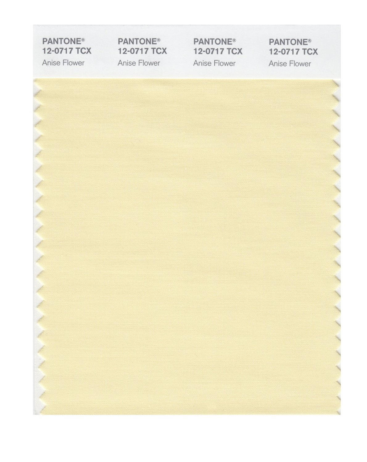 Pantone Smart Swatch 12-0717 Anise Flower