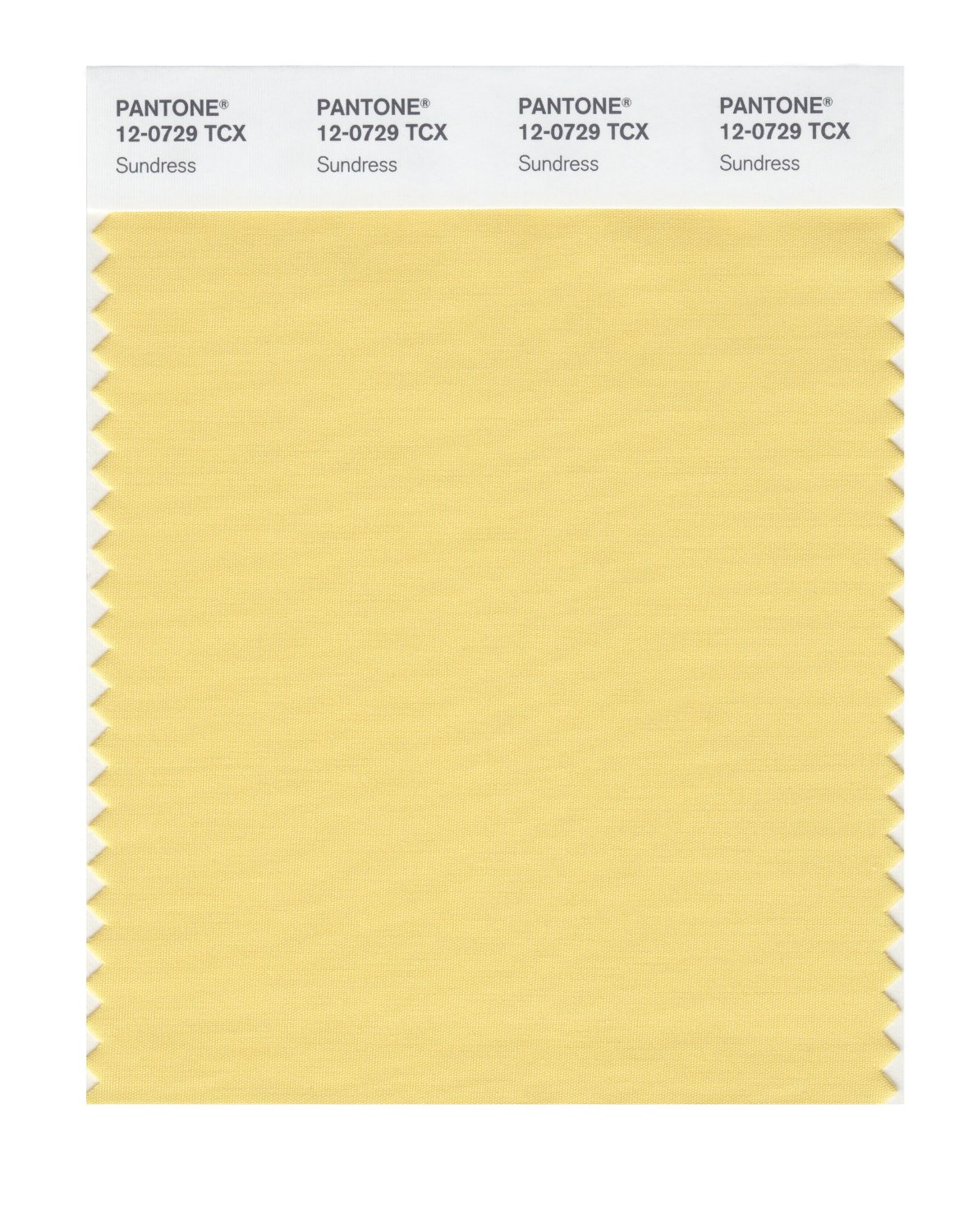 Pantone Smart Swatch 12-0729 Sundress