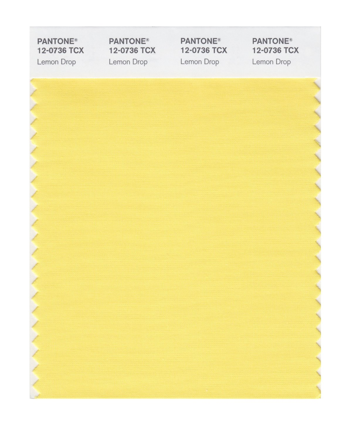 Pantone Smart Swatch 12-0736 Lemon Drop