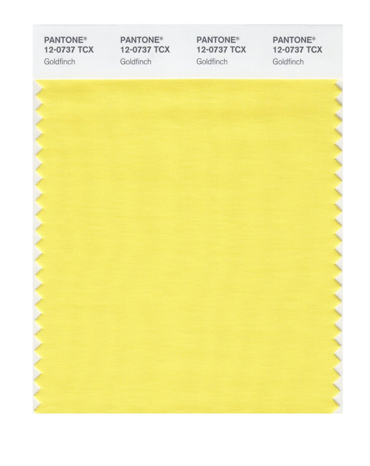 Pantone Smart Swatch 12-0737 Goldfinch