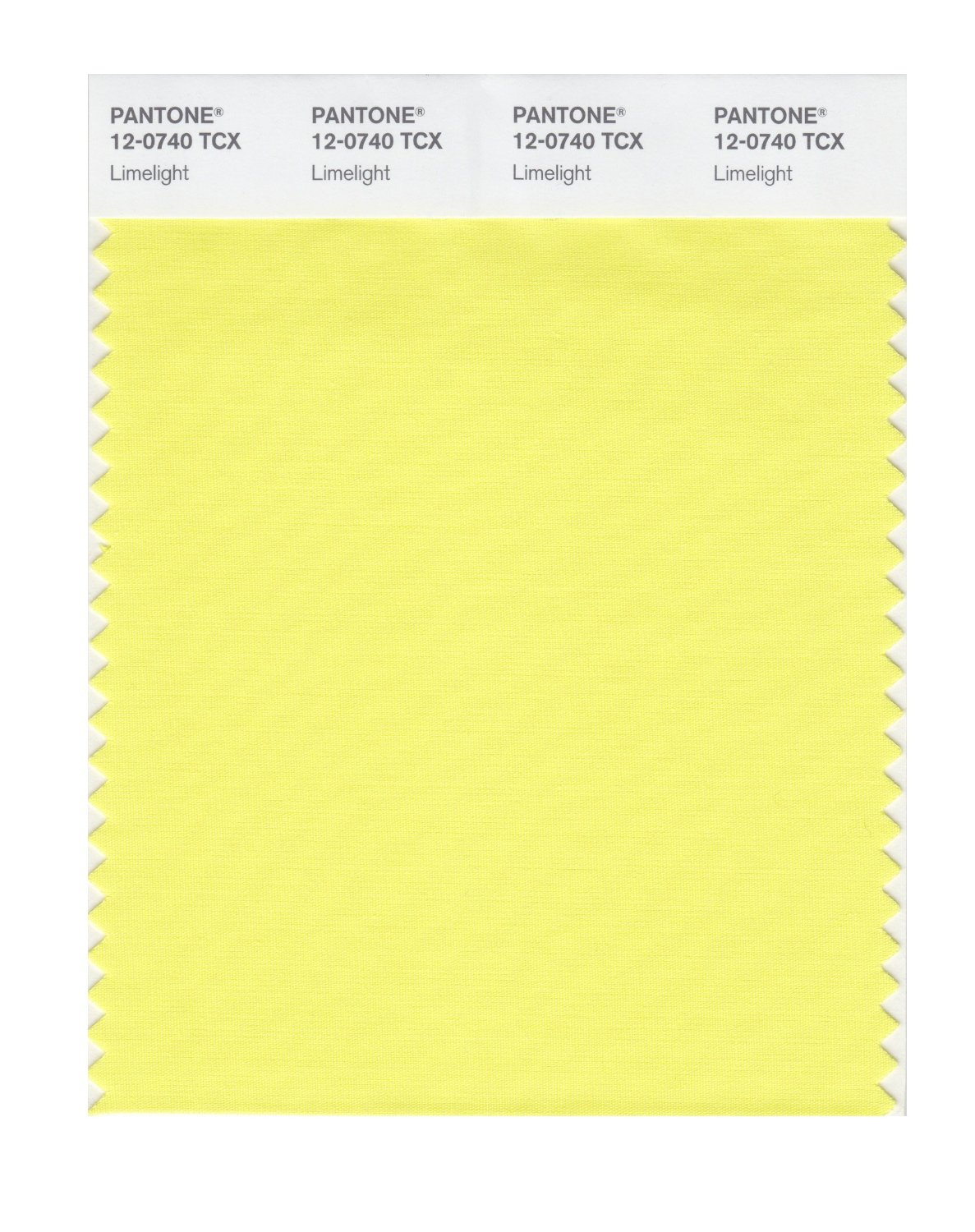 Pantone Smart Swatch 12-0740 Limelight