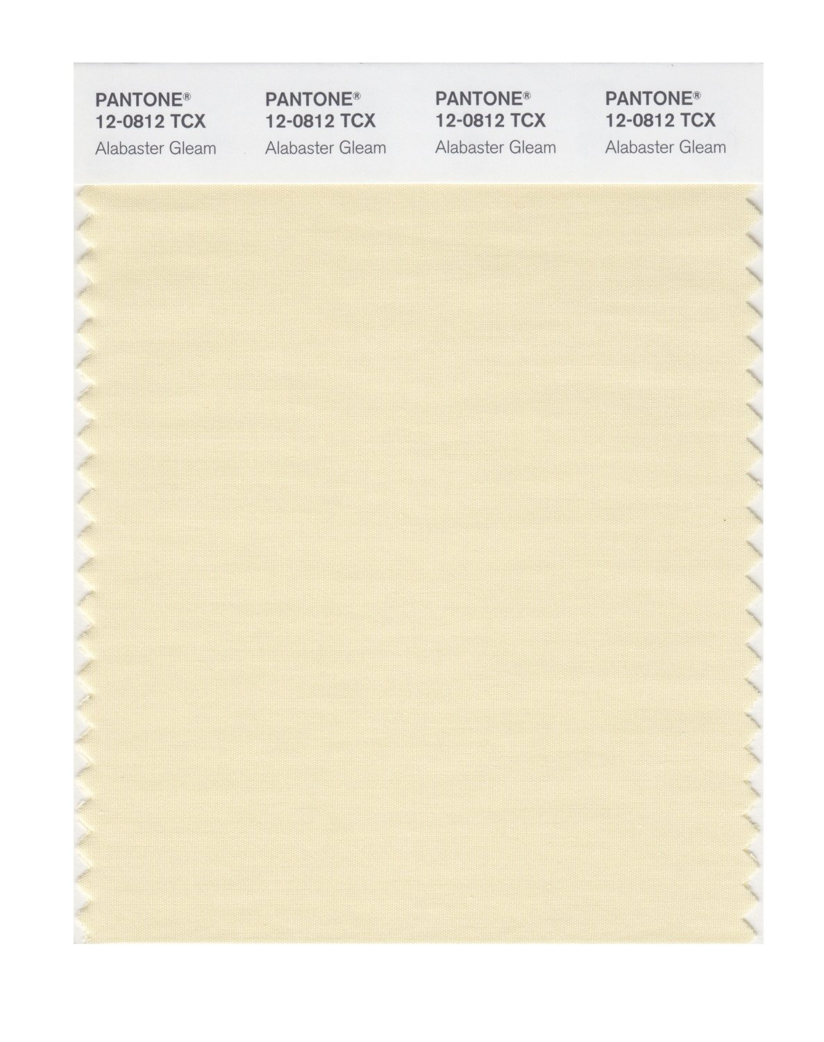 Pantone Smart Swatch 12-0812 Alabaster Gleam
