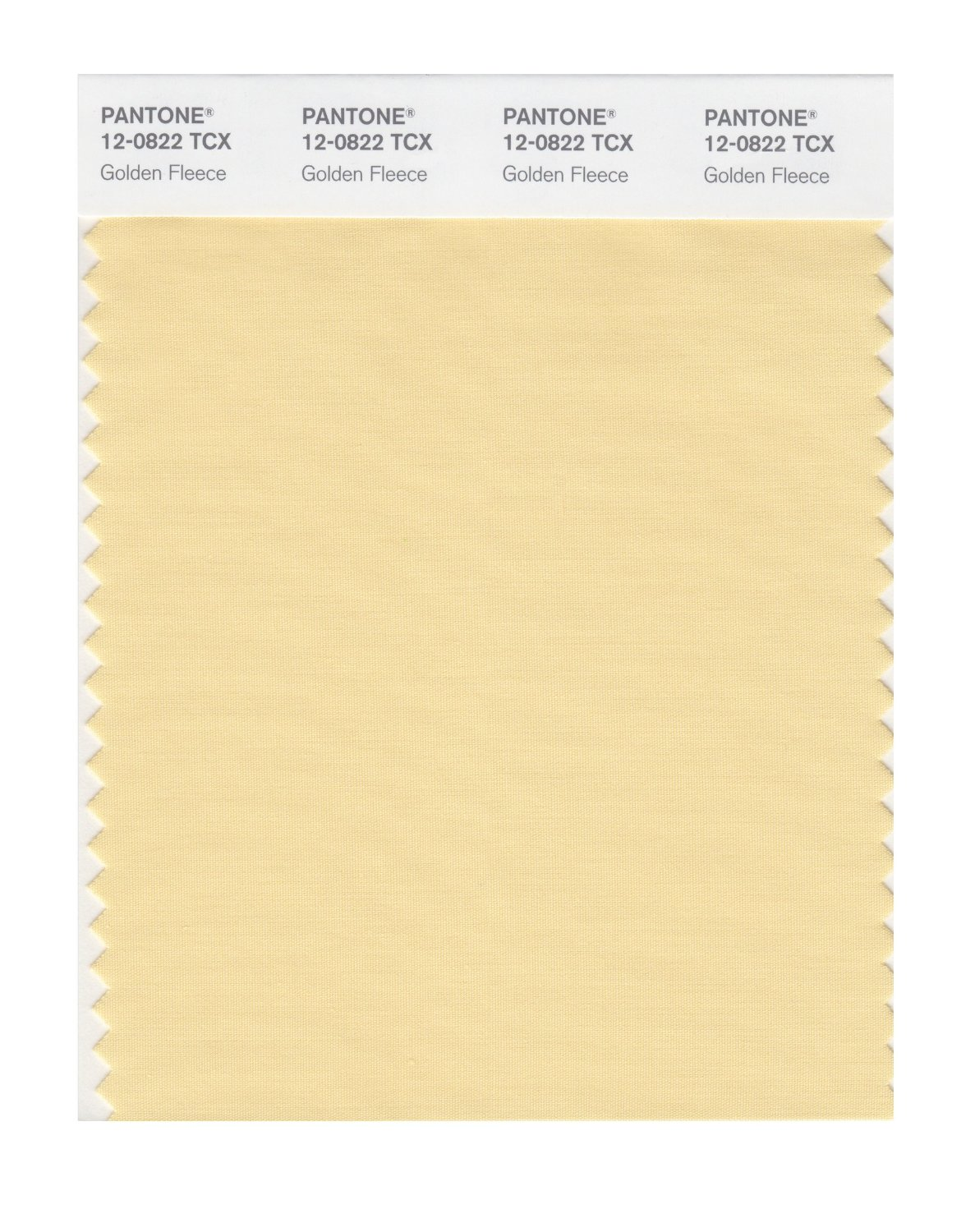 Pantone Smart Swatch 12-0822 Golden Fleece