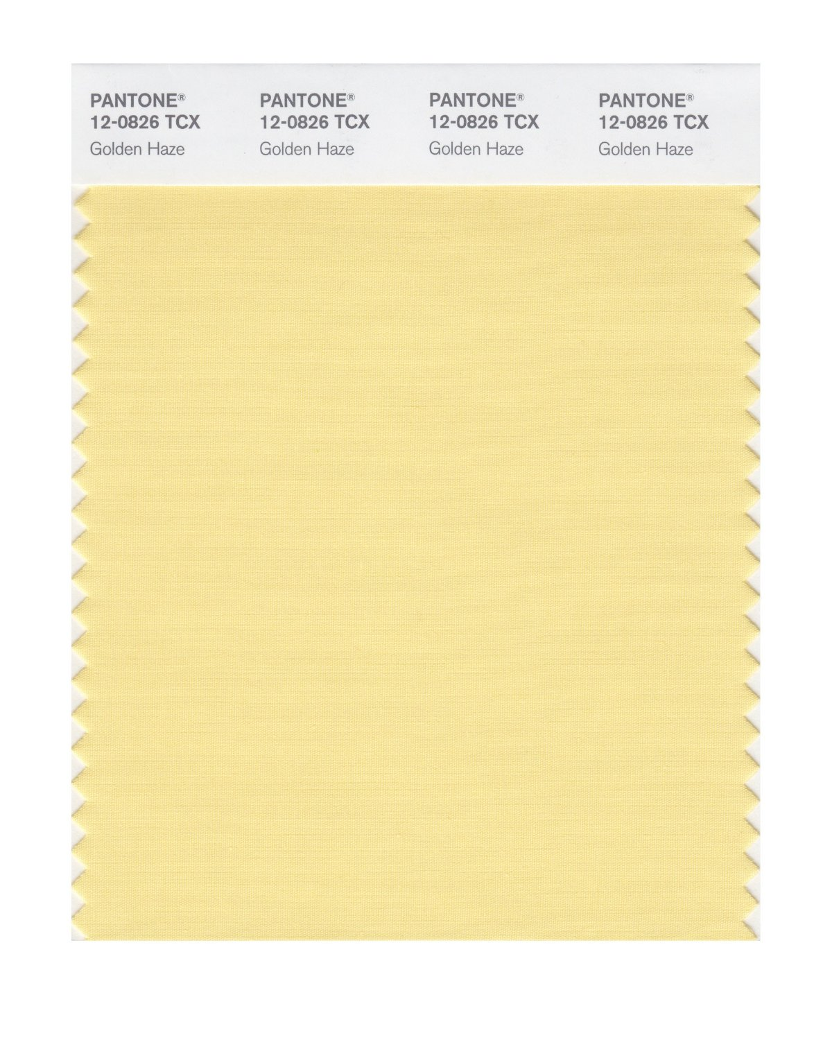 Pantone Smart Swatch 12-0826 Golden Haze
