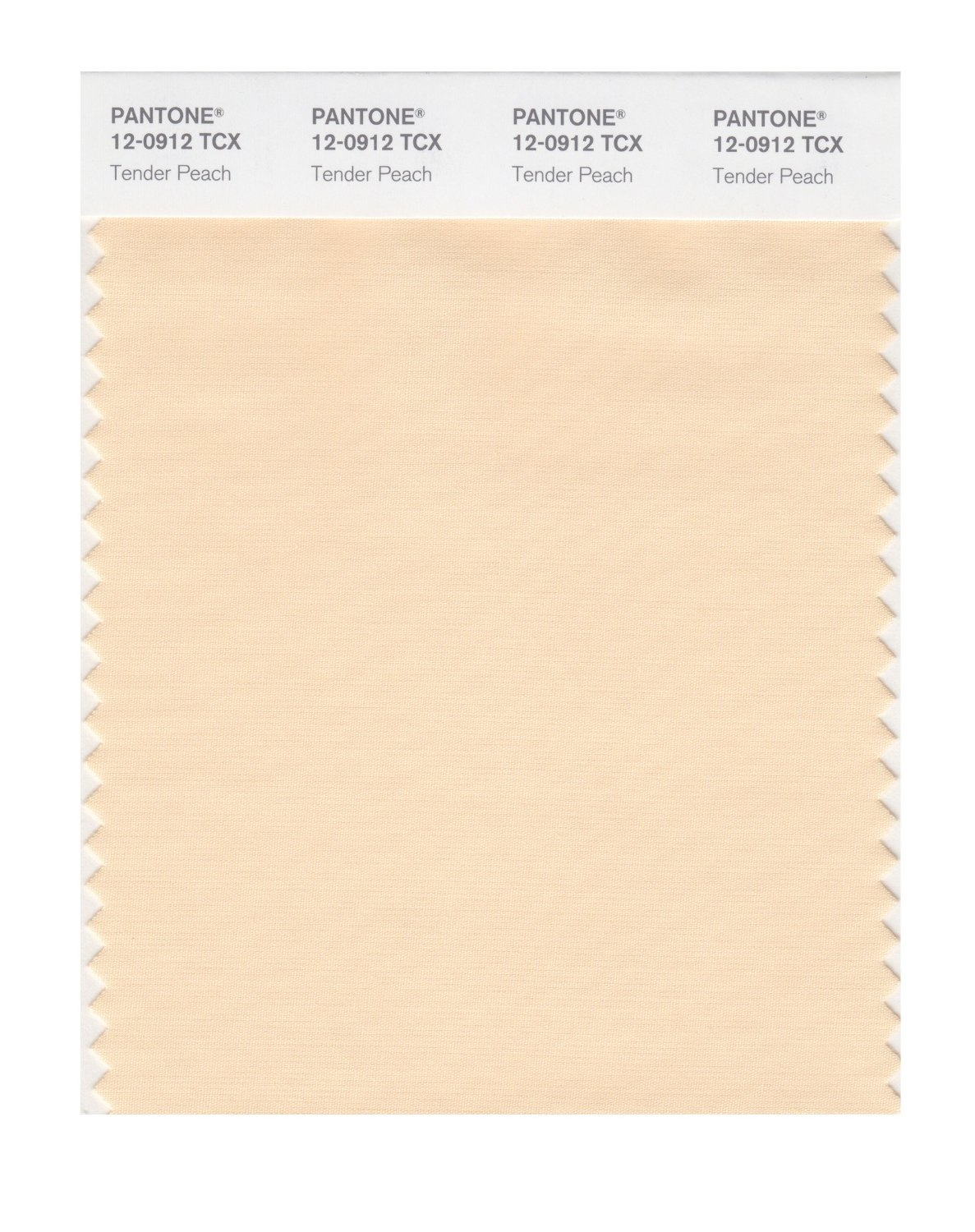 Pantone Smart Swatch 12-0912 Tender Peach