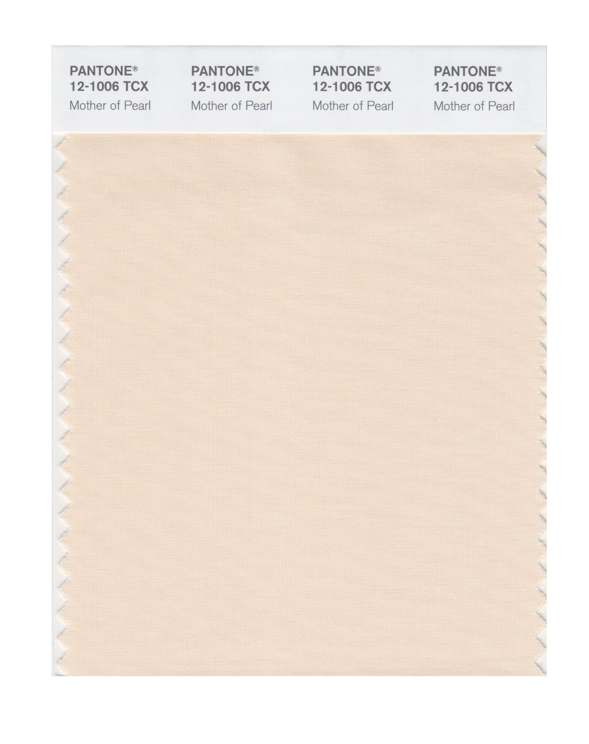 Pantone Smart Swatch 12-1006 Mother Of Pearl