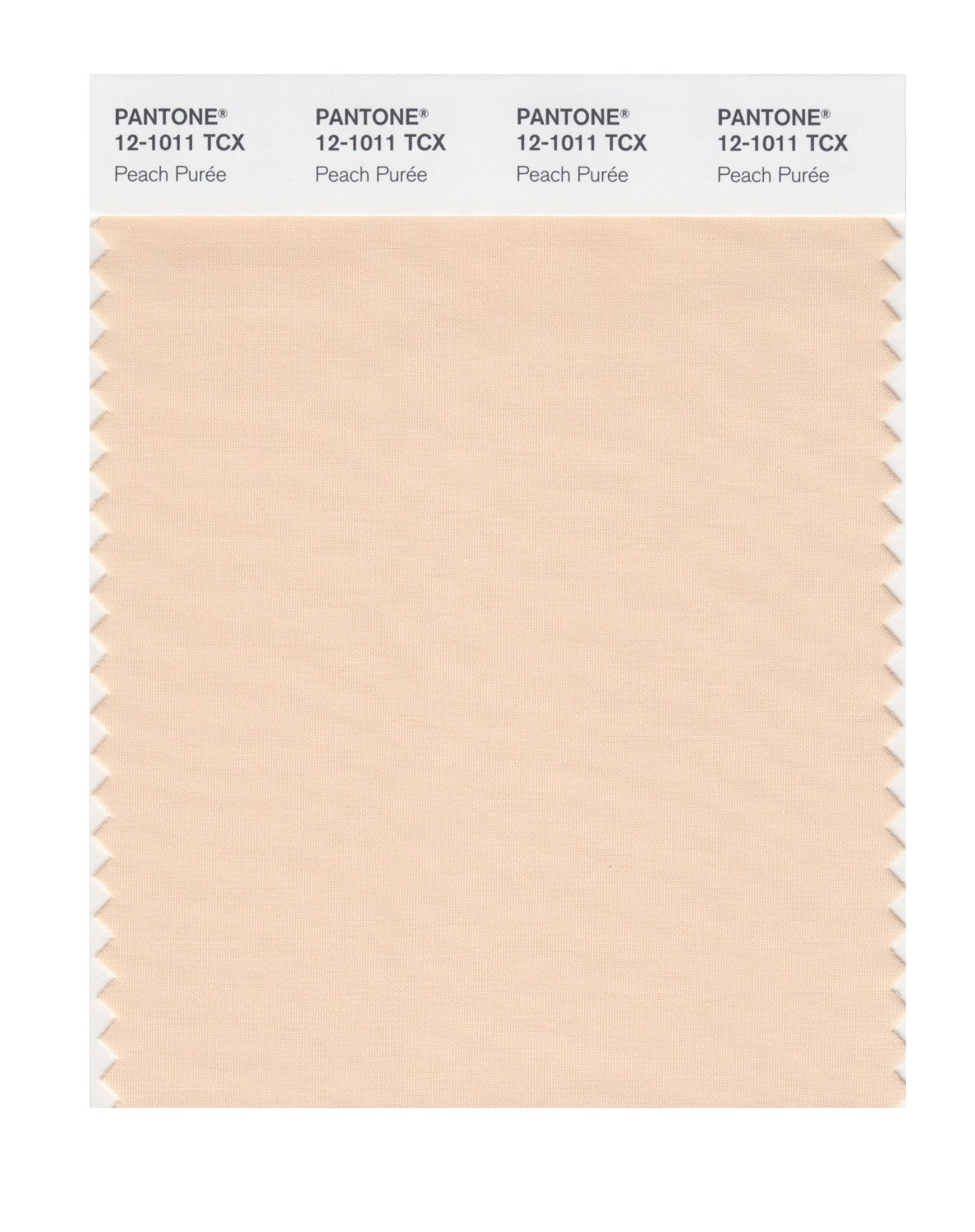 Pantone Smart Swatch 12-1011 Peach Puree