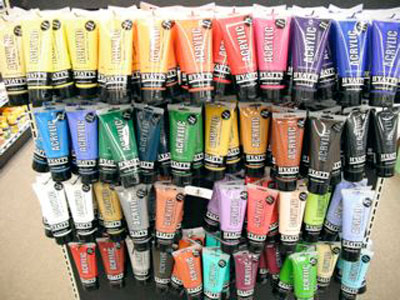 Buy hyatt 39 s acrylic paints for Basic acrylic paint colors to have
