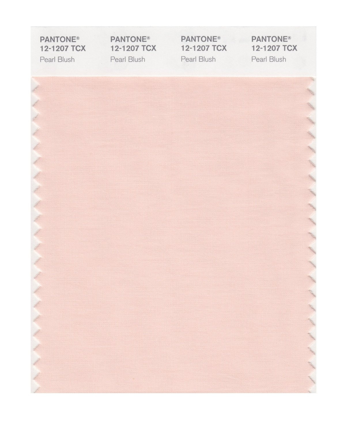 Pantone Smart Swatch 12-1207 Pearlblush