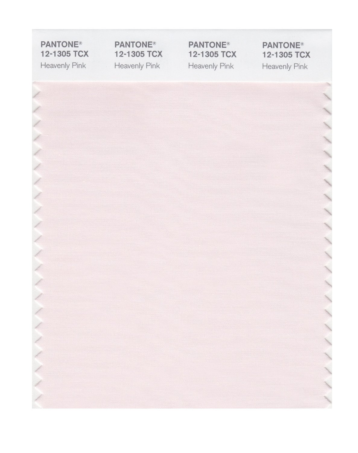 Pantone Smart Swatch 12-1305 Heavenly Pink