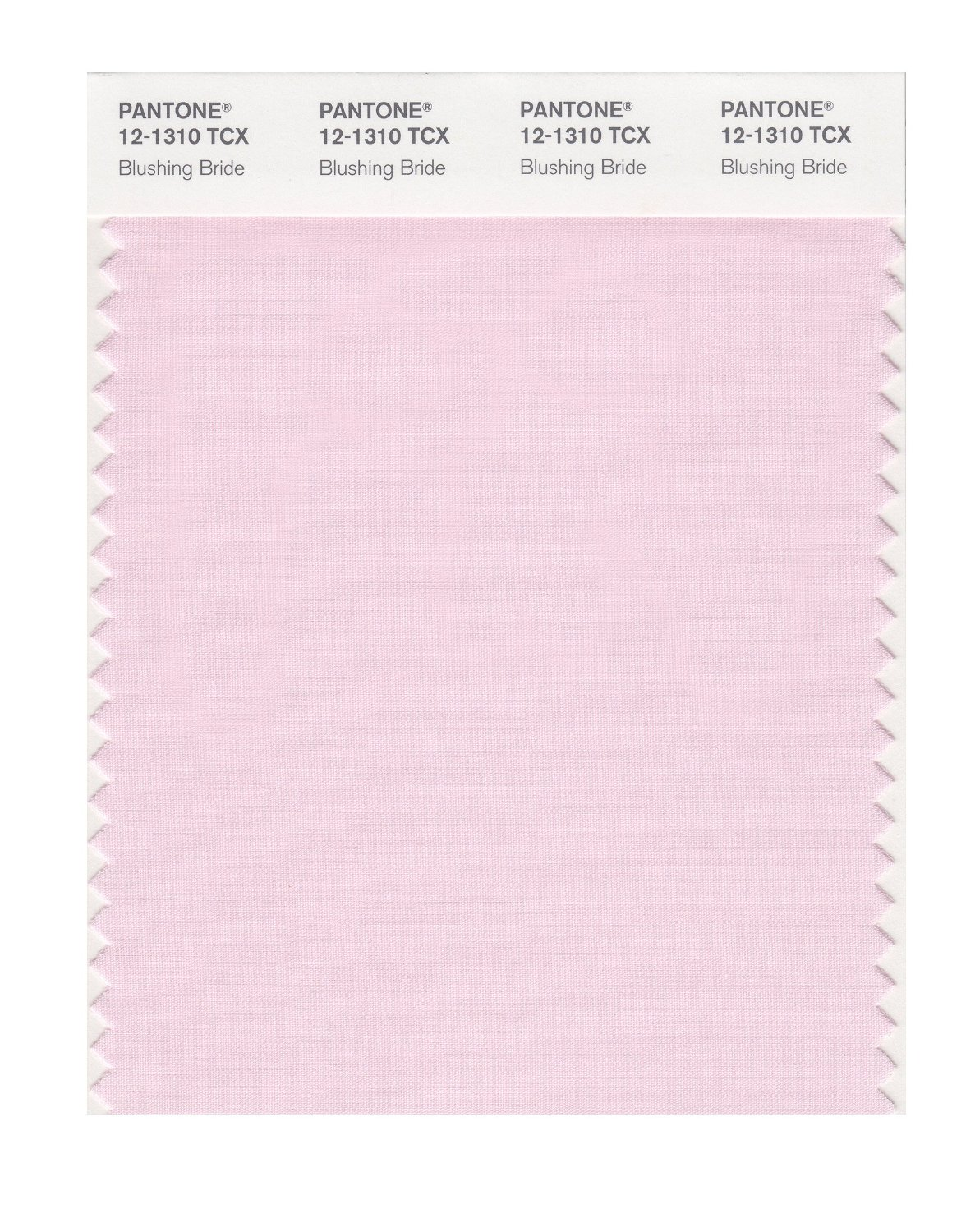 Pantone Smart Swatch 12-1310 Blushing Bride