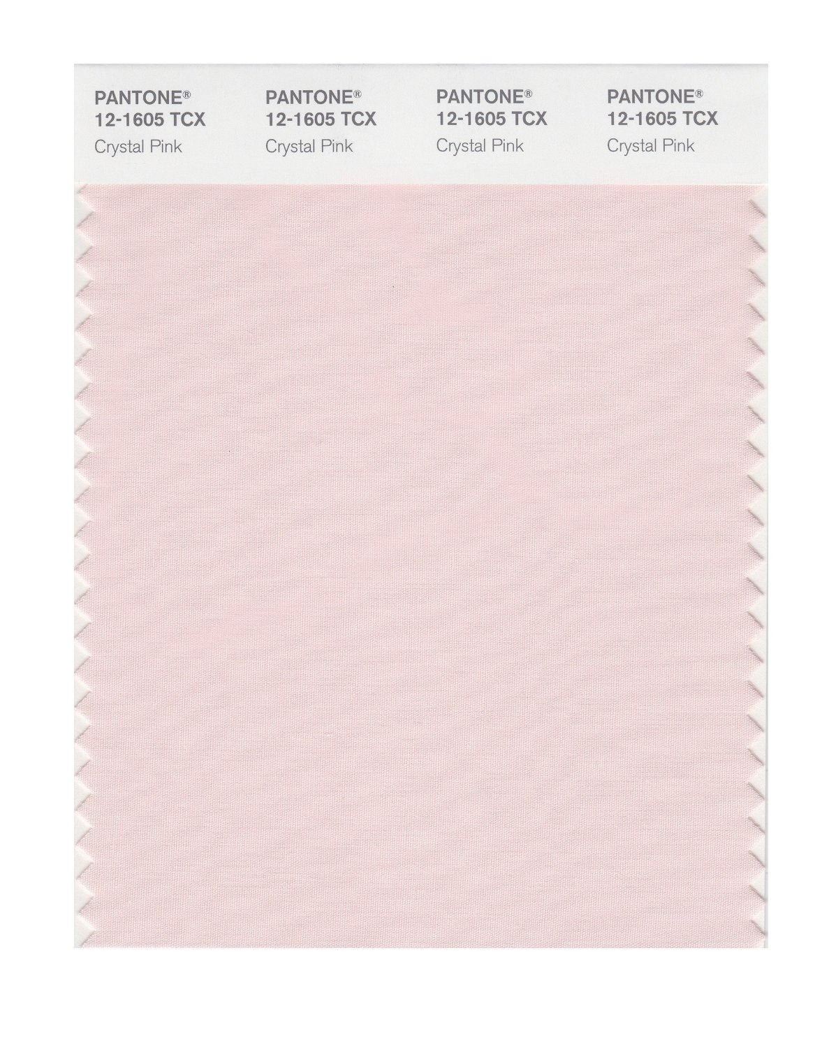 Pantone Smart Swatch 12-1605 Crystal Pink