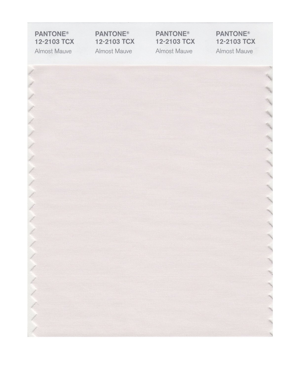Pantone Smart Swatch 12-2103 Almost Mauve