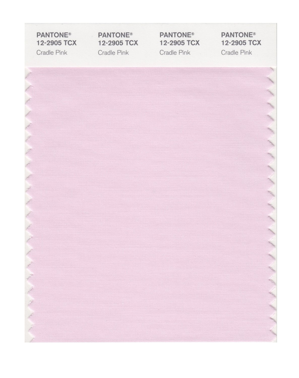 Pantone Smart Swatch 12-2905 Cradle Pink