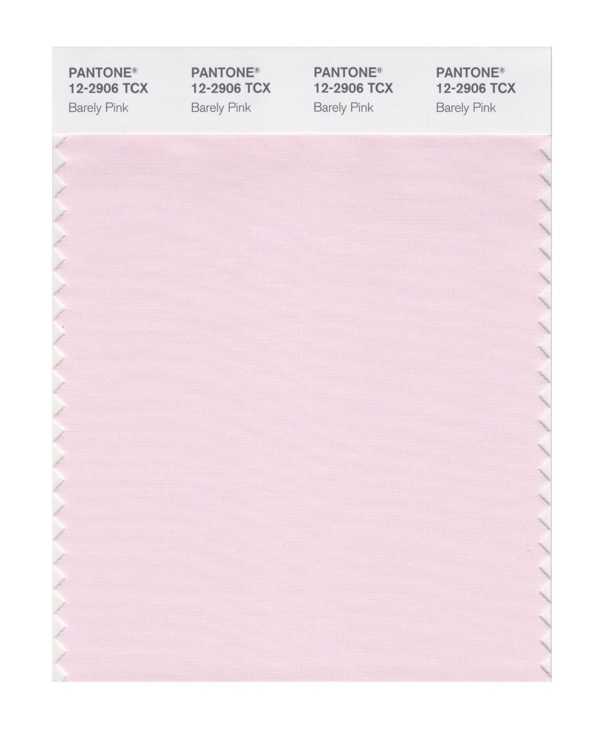 Pantone Smart Swatch 12-2906 Barely Pink