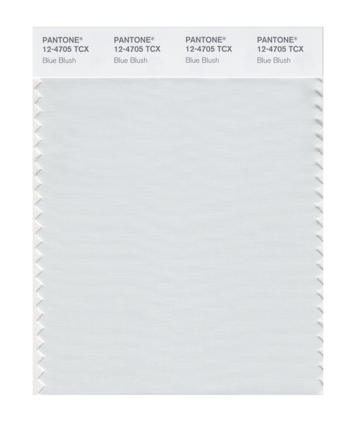 Pantone Smart Swatch 12-4705 Blue Blush