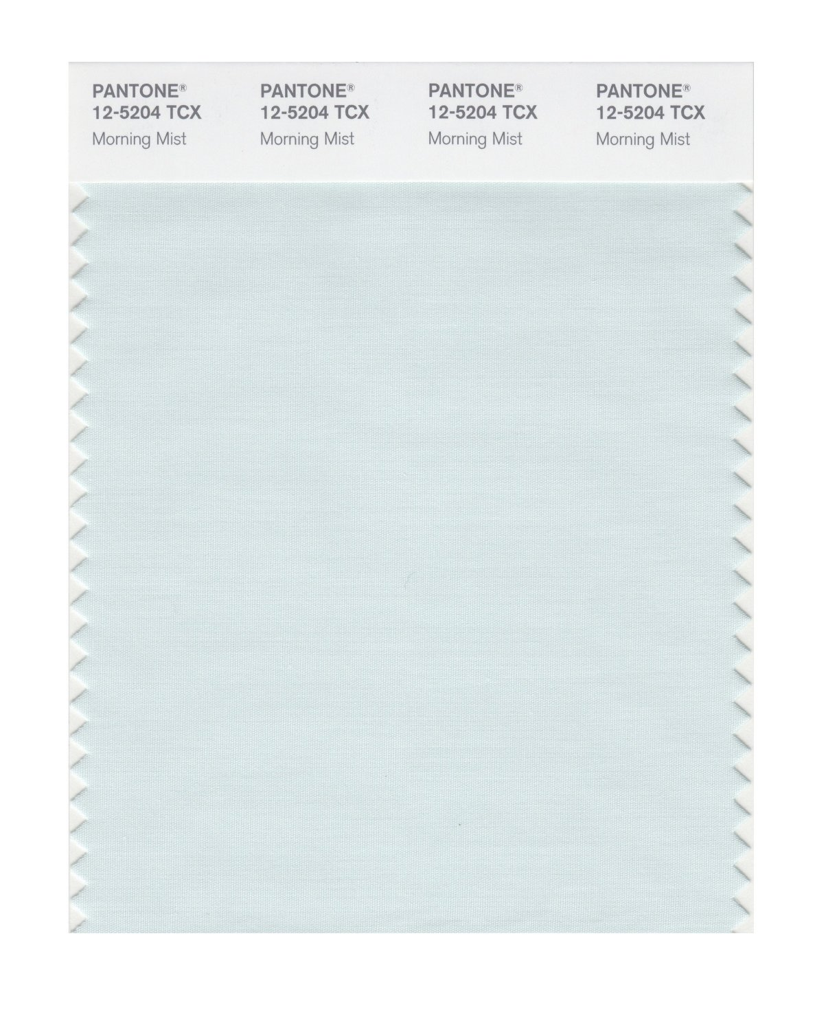 Pantone Smart Swatch 12-5204 Morning Mist