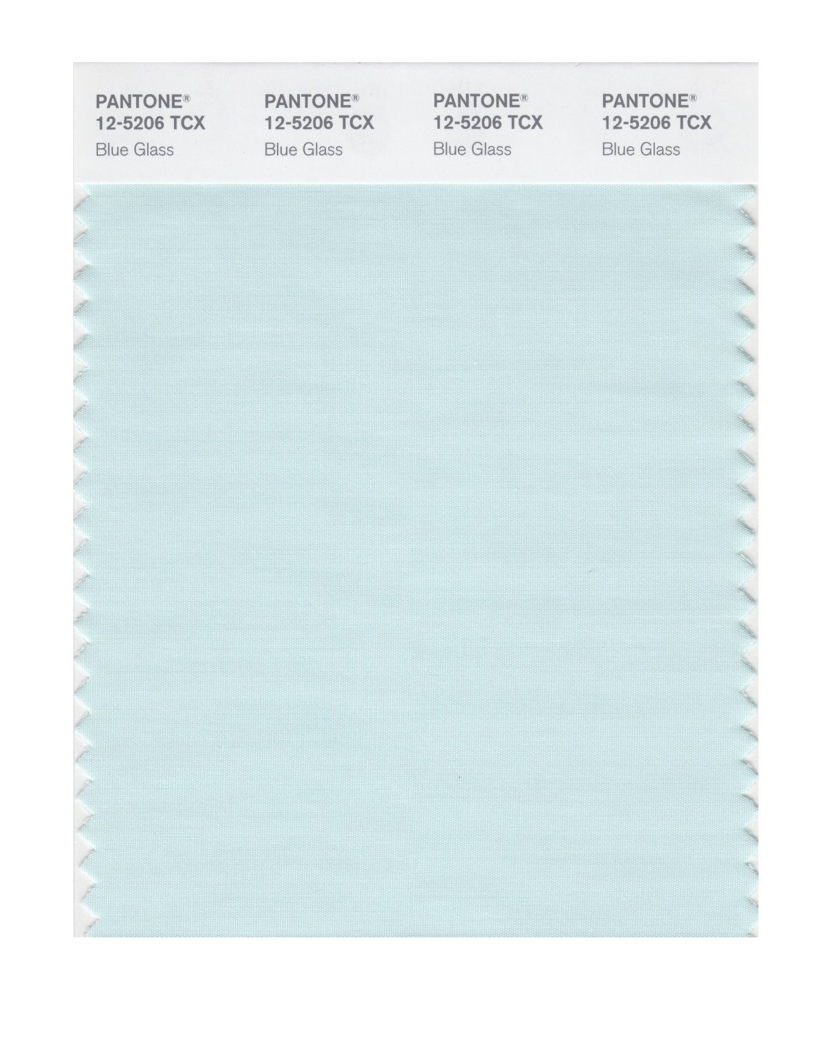 Pantone Smart Swatch 12-5206 Blue Glass