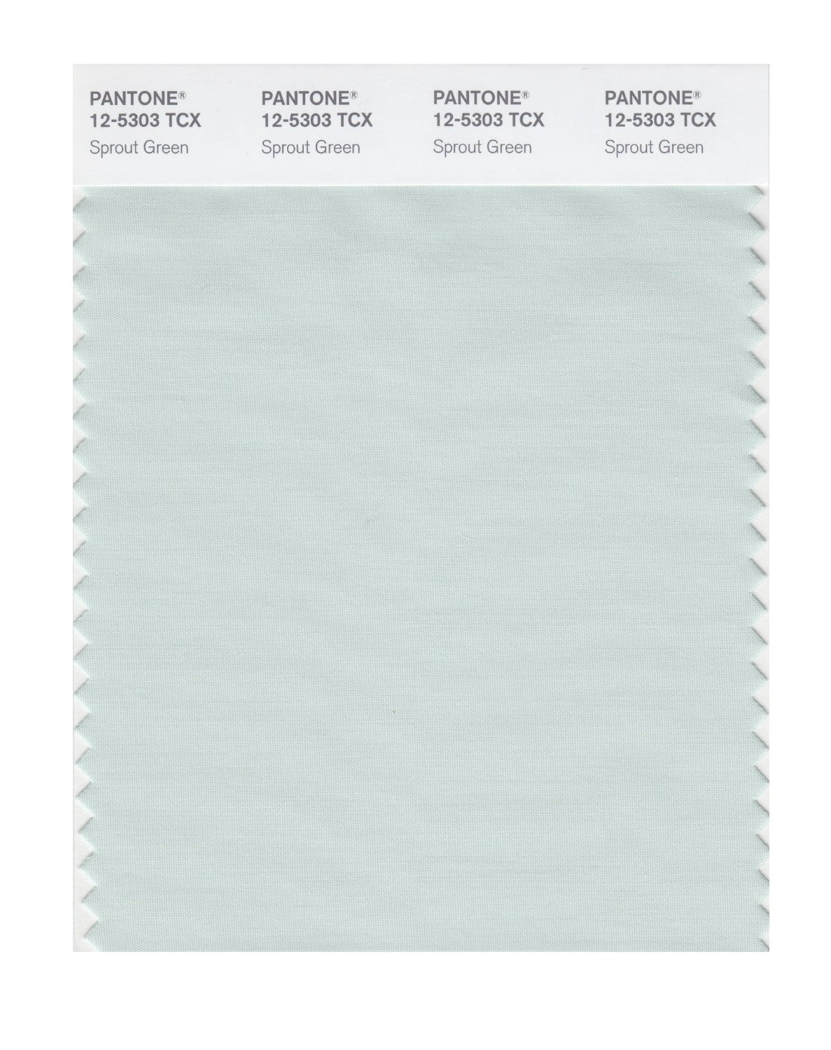Pantone Smart Swatch 12-5303 Sprout Green