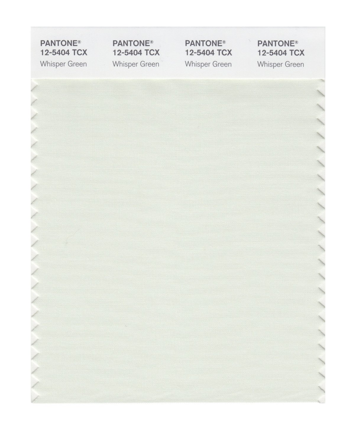 Pantone Smart Swatch 12-5404 Whisper Green