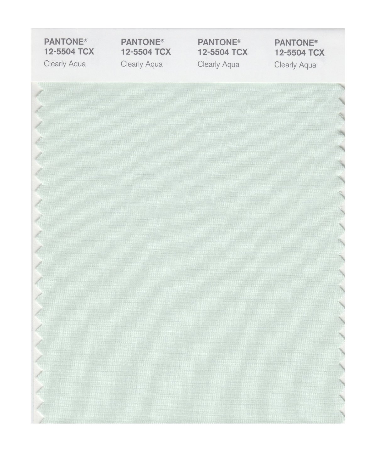 Pantone Smart Swatch 12-5504 Clearly Aqua