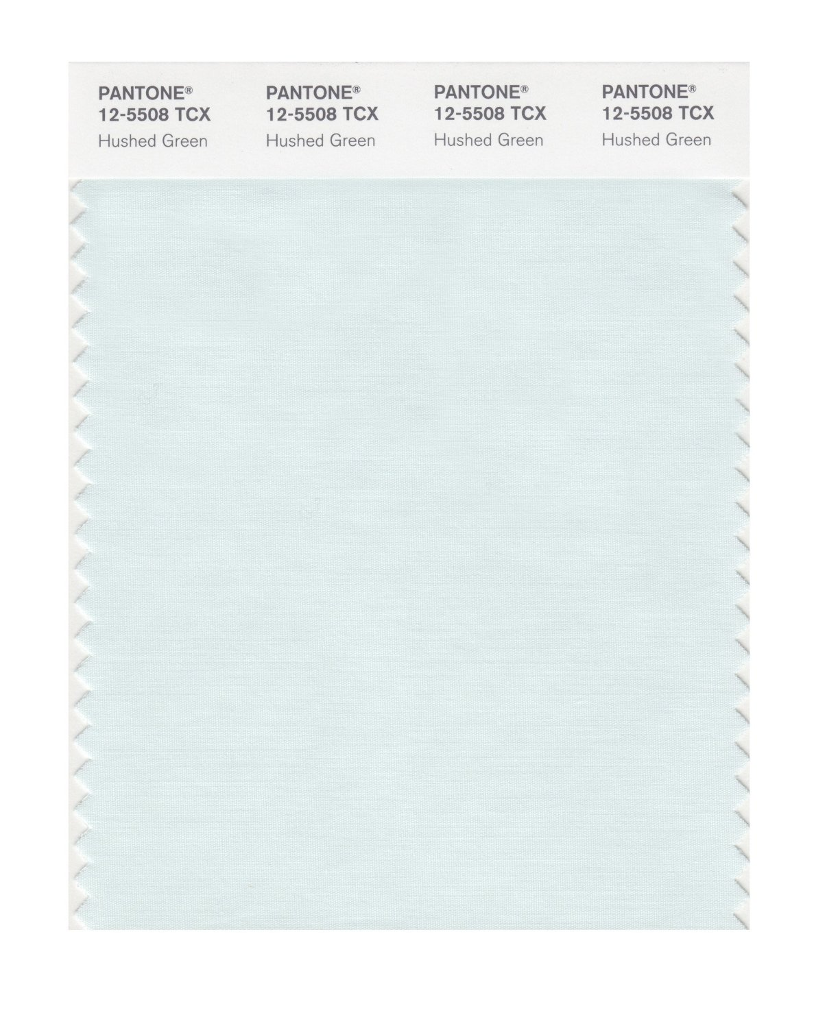 Pantone Smart Swatch 12-5508 Hushed Green