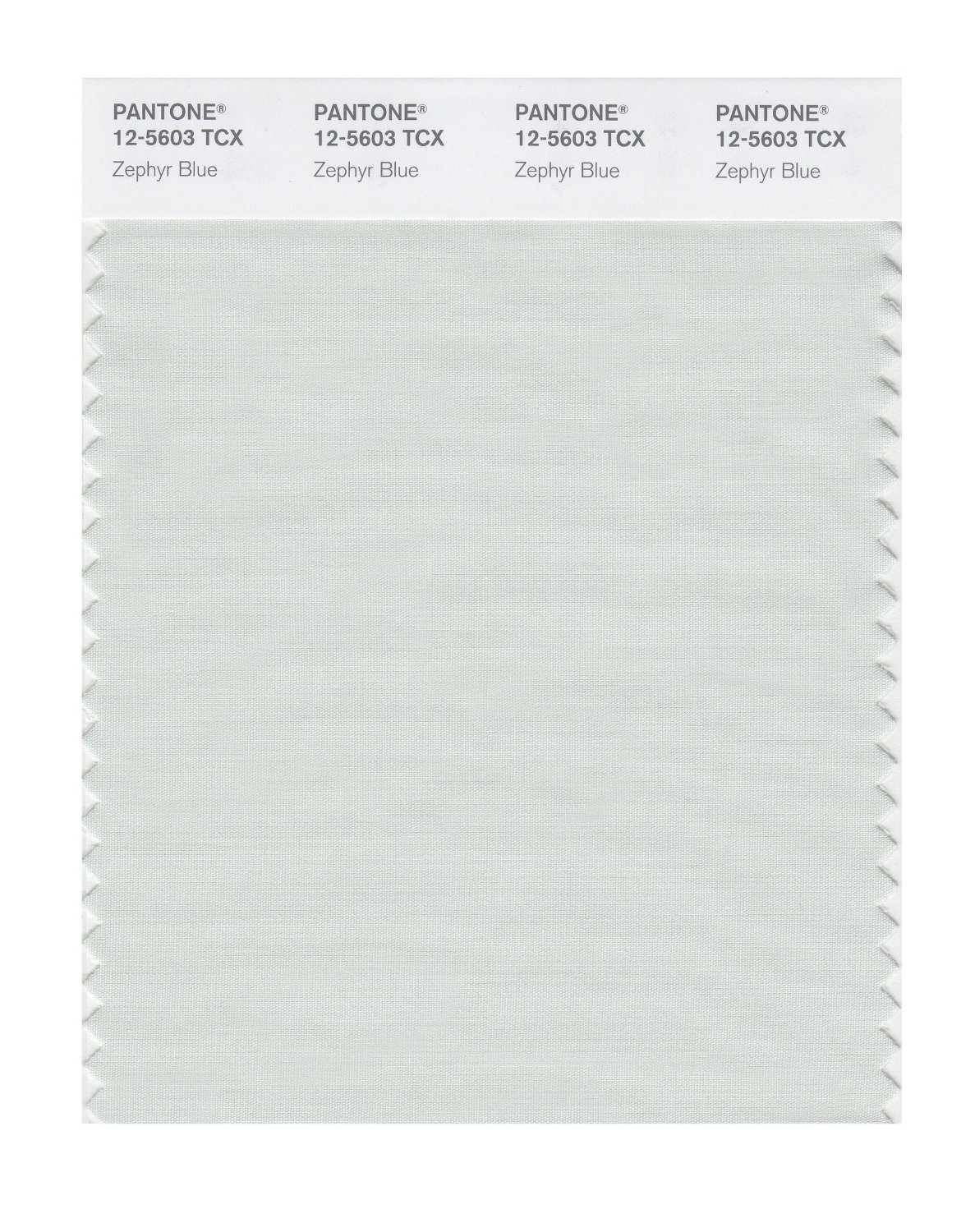 Pantone Smart Swatch 12-5603 Zephyr Blue