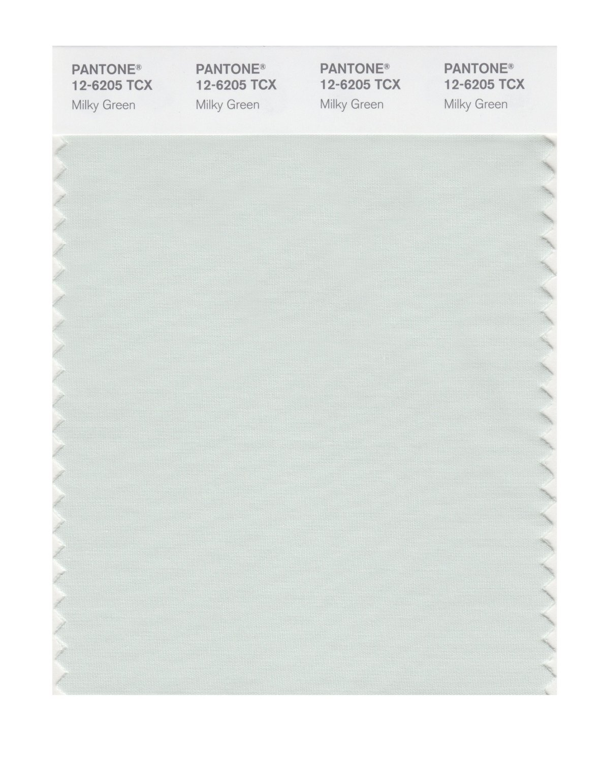 Pantone Smart Swatch 12-6205 Milky Green