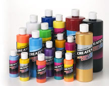 Buy Createx Airbrush Color In 2oz 4oz 8oz 16oz