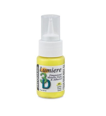 Lumiere 3D Adhesive & DImensional Metallic Paint