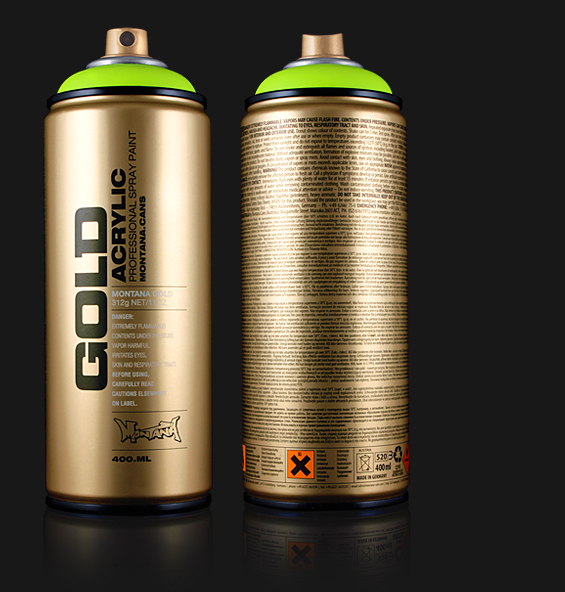 Buy Montana Gold Acrylic Spray Paint From Hyatts