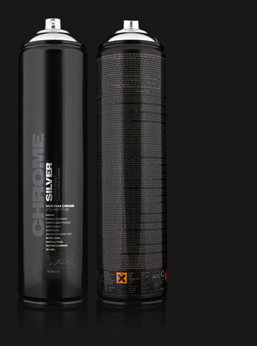 Montana Silverchrome Spray Paint