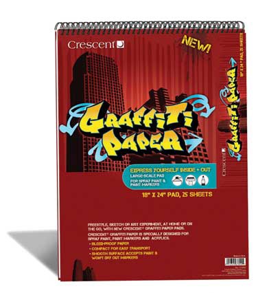 Graffiti Paper + Sketchbooks
